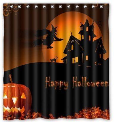 Halloween Pumpkin Shower Curtains | Moms | Scoop.it