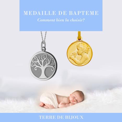 Comment choisir sa médaille de baptême ? | Bijoux enfant & Bébé (Cadeaux de bapteme, naissance, anniversaire) | Scoop.it