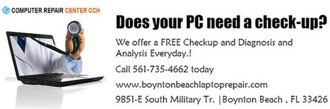 Does your PC need a checkup? We offer a FREE Diagnostics | Computer Repair Boynton Beach | Scoop.it