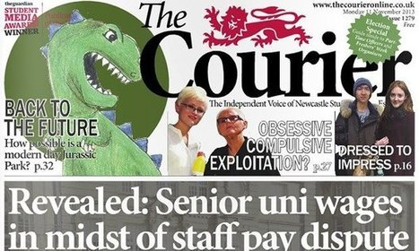 Newcastle University's the Courier wins student publication of the year | New Journalism | Scoop.it