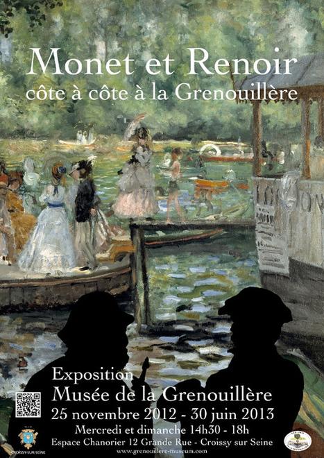 Monet et Renoir, Croissy sur Seine | Impressionnisme | Scoop.it