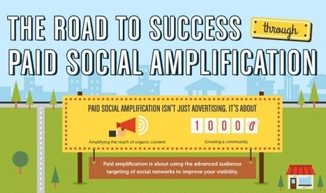 The Road to Success Through Paid Social Amplification #infographic | Inbound Marketing Update | Scoop.it