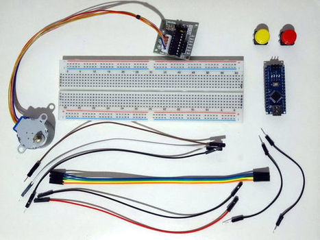 Arduino Nano and Visuino: Control Stepper Motor with Buttons | Raspberry Pi | Scoop.it