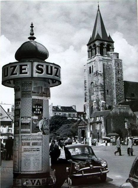 1957 Saint-Germain des Prés | Epic pics | Scoop.it