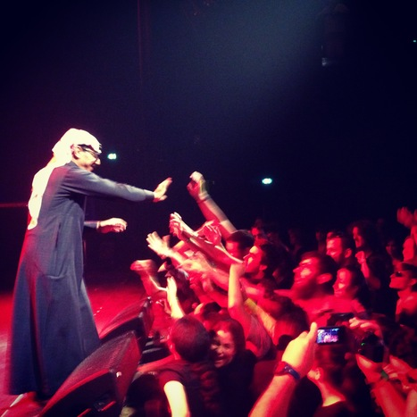 Omar Souleyman, inauguration BAM, Metz 26 septembre 2014 | En concert | Scoop.it