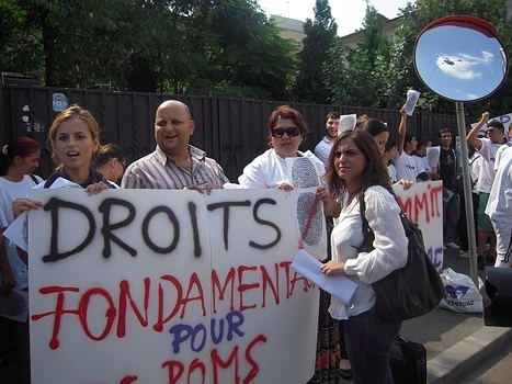 Un rapport accablant sur la situation des Roms en France | Union Européenne, une construction dans la tourmente | Scoop.it