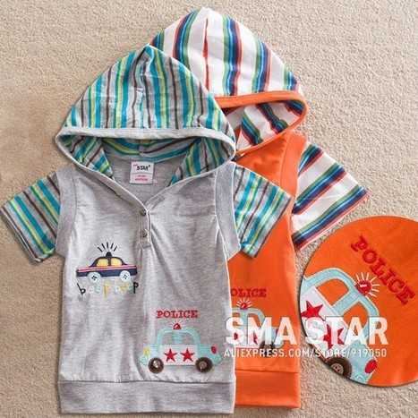 Baby Boy Lovely Summer T Shirt With Hat | Clothing at SMA-STAR | Scoop.it
