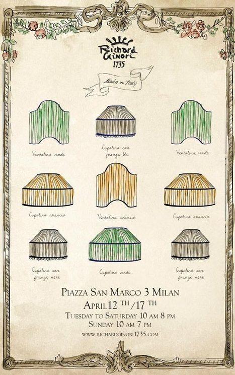 Richard Ginori - Salone Del Mobile - Milan | Interior Design | Scoop.it