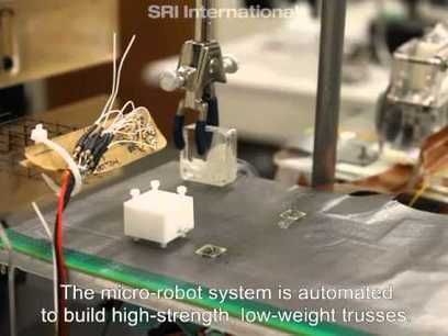 Video: tiny swarm robots for microscale manufacturing - Boing Boing | Motion and Control Technologies | Scoop.it