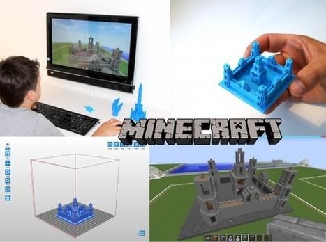 3D print direkte fra Minecraft | HippoMini | Printer-3D software | Scoop.it