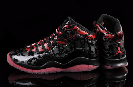Air Jordan 10 Retro Doernbecher Black Gym Red for Sale Online | Air Jordan shoes | Scoop.it