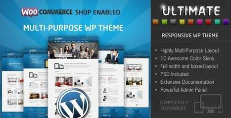 Ultimate v2.0.1 – Multi Purpose Responsive WP Theme - Daily Nulled | Daily Nulled WordPress Themes & Plugins | Scoop.it