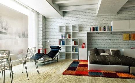 Comfortable Stylish Colorful Bedrooms - House Design, Room Ideas, Interior Decorating - HouseLT.com | HouseLT | Scoop.it