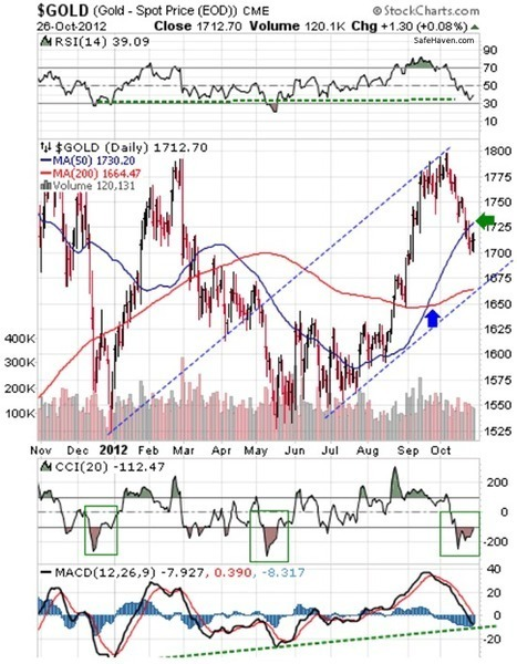 Some Incredible Gold Charts | Peter Degraaf | Safehaven.com | Gold and What Moves it. | Scoop.it
