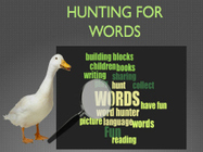 Hunting for Words | Writing Activities for Kids | Scoop.it