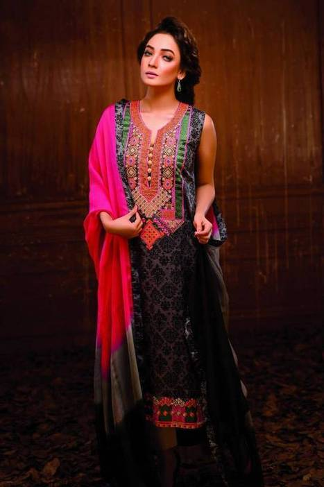 Hadiqa Kiani|Dresses Summer Collection-2014 - ..:: Fashion Wd Passion ::.. | Wear Fashion with Style | Scoop.it