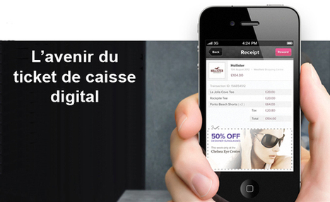Quel avenir digital pour le ticket de caisse ? | social gaming et e-commerce | Scoop.it