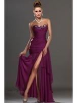 Purple Evening Dresses With Sleeves | AnasDress | Scoop.it