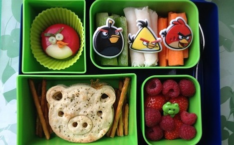 Mum turns lunchbox into daily work of art to tempt son - Telegraph.co.uk | KidArt | Scoop.it