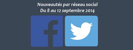 Récapitulatif des dernières fonctionnalités par réseau social : du 8 au 12 septembre 2014 - Clément Pellerin - Community Manager Freelance & Formateur réseaux sociaux | Facebook | Scoop.it