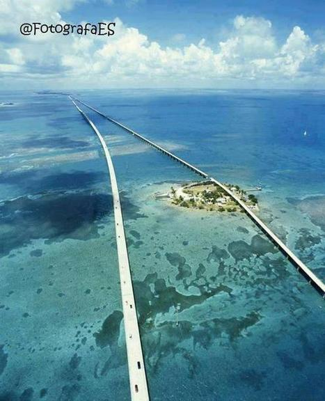 Twitter / PaisajeGeo: Seven Mile Bridge, Florida ... | From South Beach to Key West | Scoop.it