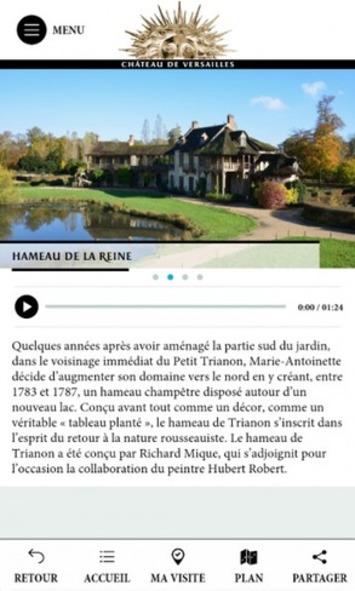Le château de versailles lance une nouvelle application mobile consacrée aux châteaux et jardins de Trianon | TIC et TICE mais... en français | Scoop.it