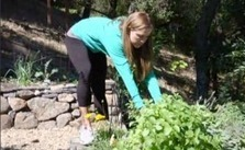 Going for the green: Olympic swimmer Natalie Coughlin could medal in gardening | edible landscaping | Scoop.it