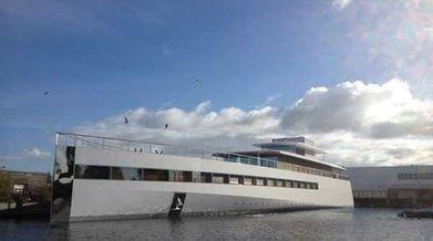 Yate diseñado por Steve Jobs fue revelado ayer en Holanda | Mastics | Scoop.it