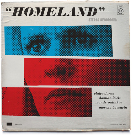 Vintage Jazz Record Covers Inspired by The Television Show Homeland | Homeland Seasons 2 and 3 | Scoop.it