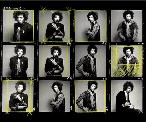 Shooting Film: Contact Sheet of Iconic Photos of Jimi Hendrix in 1967 | L'actualité de l'argentique | Scoop.it