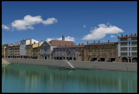 Lyon en 1700: Quais de Saône et Célestins | GenealoNet | Scoop.it