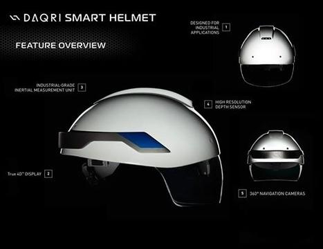 Le casque du futur arrive sur les chantiers | Dans l'actu | Doc' ESTP | Scoop.it