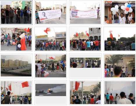 #Bahrain: pictures of a march in Malkiya condemning the #Saudi occupation | Human Rights and the Will to be free | Scoop.it
