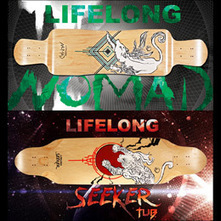 NEW from Lifelong Longboards: The Nomad and a tub concave for ... | Ramirez Longboarding | Scoop.it