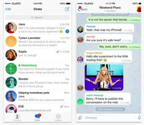 Telegram, une messagerie chiffrée populaire aussi chez les djihadistes | Geeks | Scoop.it