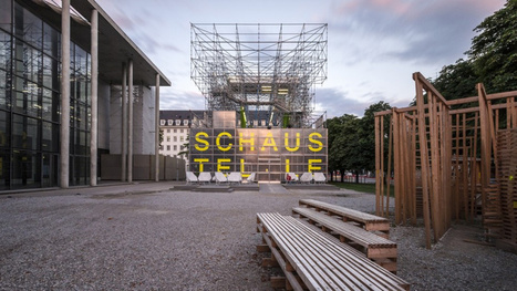 This Munich Museum Moved Into a Building Made Entirely of Scaffolding | Strange days indeed... | Scoop.it