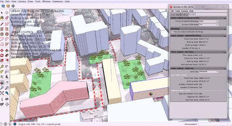 Modelur for sketchup – A useful sketchup extension for parametric urban design | 3d information 2013 | Scoop.it