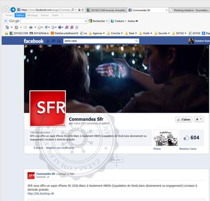 Fausses boutiques en ligne SFR | Libertés Numériques | Scoop.it