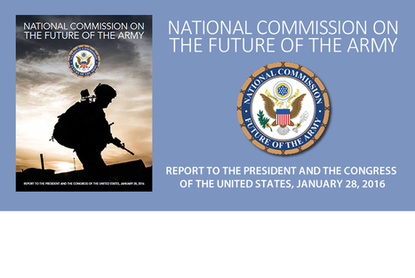 National Commission on the Future of the Army | National Security Issues | Scoop.it
