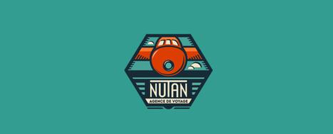 45+ Flat Logo Design Examples Inspiration | Designrazzi | Premium Themes Download | Scoop.it