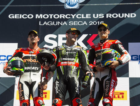 "SBK, Laguna Seca, Giugliano: ""A fantastic race, a special podium!"" 
