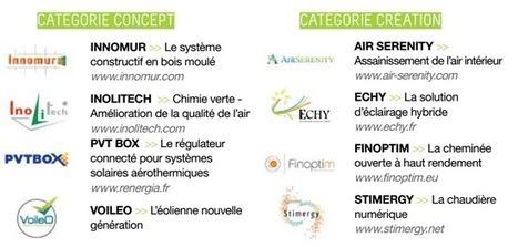 Concours national éco-construction 2014 : 8 Start-ups innovantes ... - mediaterre.org   Eco-construction et Eco-conception   Scoop.it