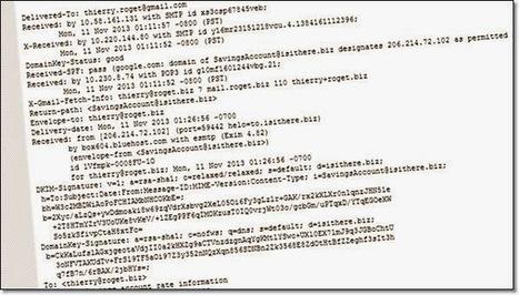 Les mails que j'envoie contiennent-ils l'adresse ip de mon ordinateur? | Information Technology | Scoop.it