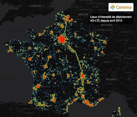 4G en France: le déploiement des réseaux en cartes animées | Immoricuss | Scoop.it