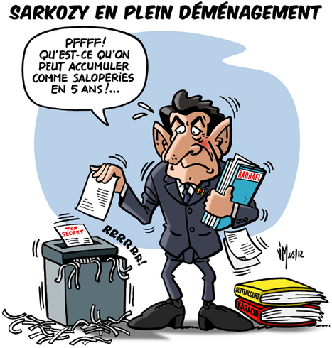 Sarkozy dans les cartons | CRAKKS | Scoop.it