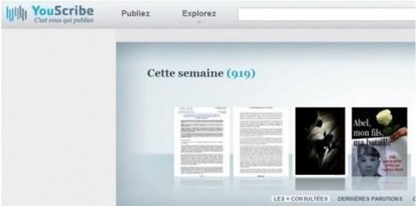 YouScribe veut devenir le YouTube de l'écrit sur internet | Web 2.0 news | Scoop.it