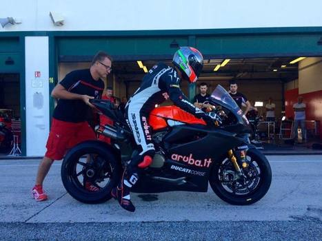 SBK, Marco Melandri debuts on the factory Ducati at Misano | Ductalk Ducati News | Scoop.it