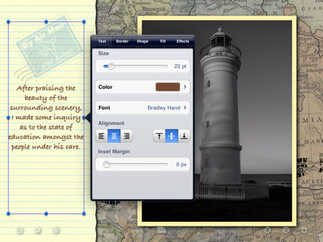 Create a digital scrapbook with Skrappy for iPad | TiPb | iPads in Learning | Scoop.it