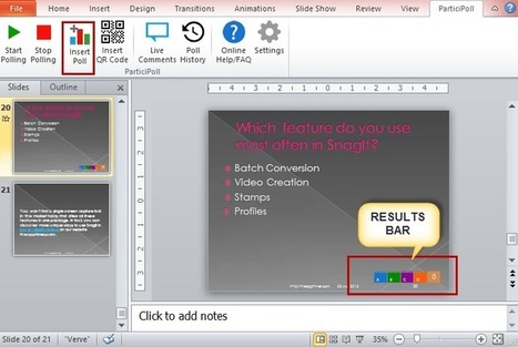 Create a Poll in PowerPoint 2010 Using ParticiPoll | Moodle and Web 2.0 | Scoop.it