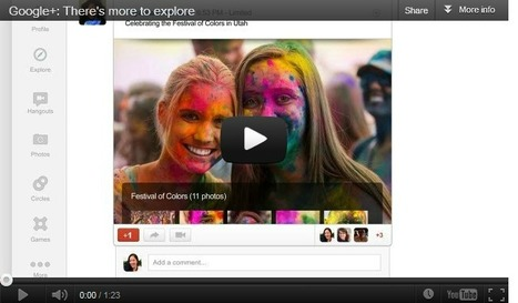 4 Key Insights From The 57-Day, Blitzkrieg Redesign Of Google+ | AtDotCom Social media | Scoop.it